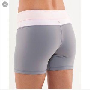 Lululemon groove reversible shorts size 8